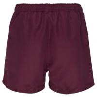 Professional Polyester Short Junior - Maroon (10YR)
