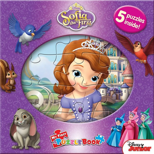 Sofia the First: My First Puzzle Book