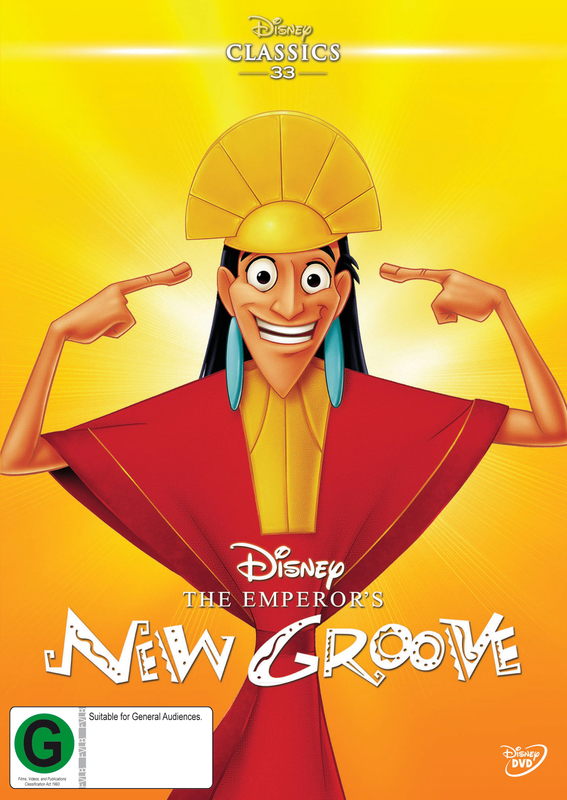 The Emperor's New Groove on DVD