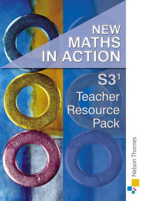 New Maths in Action: S3/1 Teacher's Support Pack by Harvey Douglas Brown image