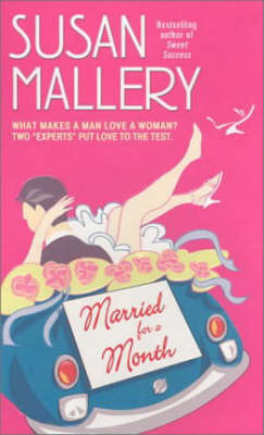 Married for a Month by Susan Mallery image