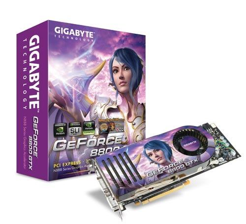 Gigabyte 8800GTX PCIE