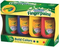Crayola: Washable Fingerpaints - 4 Pack image