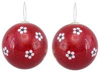 Antics: Christmas Decoration - Red Manuka image