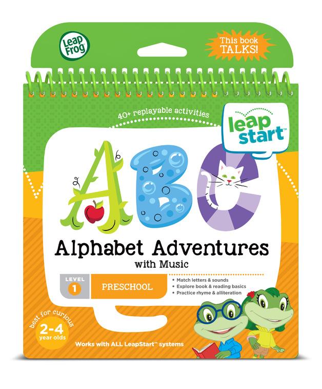 Leapstart: Alphabet Adventures - Activity Book (Level 1)