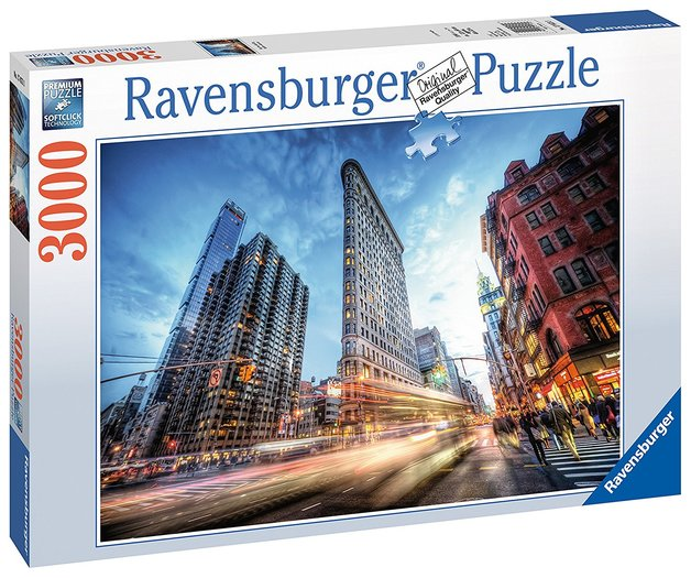 03a3d696787 Ravensburger : Flat Iron Building Puzzle 3000pc | Toy | at Mighty Ape NZ