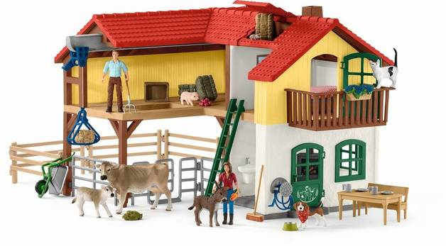 Schleich : Large Farm House