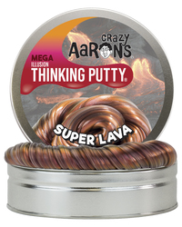 Crazy Aarons: Thinking Putty - Super Lava (Mega Tin) image