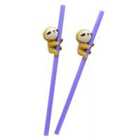 Sloth Straws image