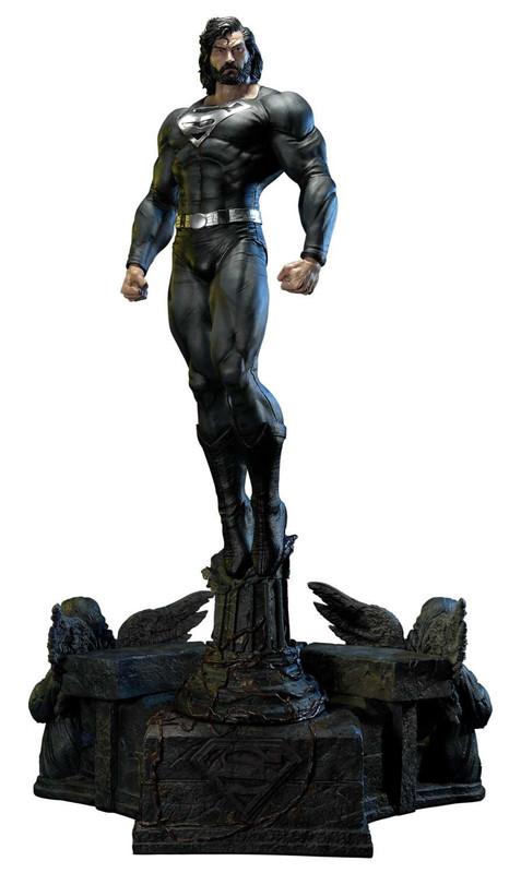 """DC Comics: Superman (Black Suit) - 42"""" Premium Statue"""