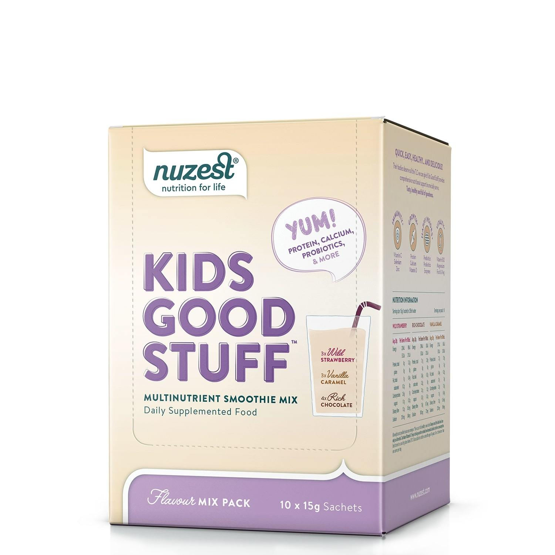 Nuzest Kids Good Stuff Smoothie Mix - Assorted (10 Sachets) image