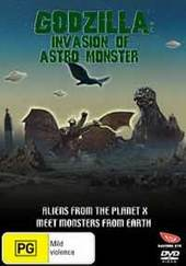 Godzilla: Invasion Of The Astro-monster on DVD