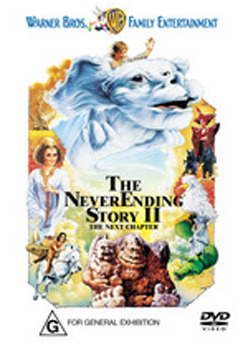 The NeverEnding Story II on DVD