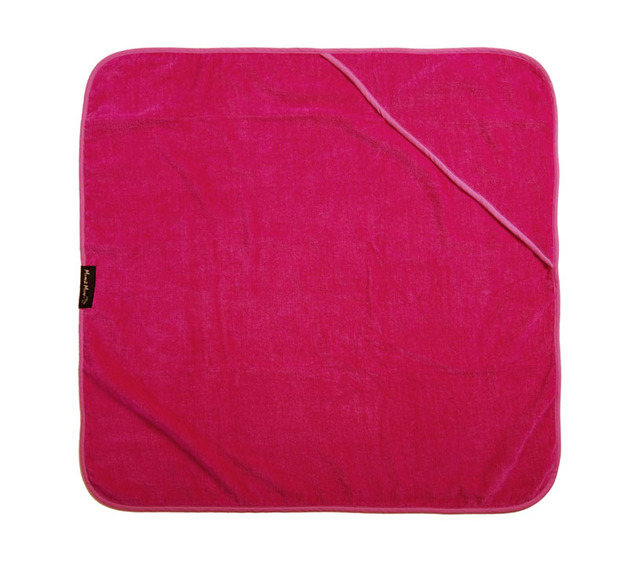 Mum 2 Mum Hooded Towel - Cerise