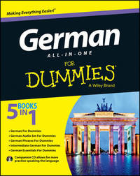 German All-in-One For Dummies: with CD by Consumer Dummies