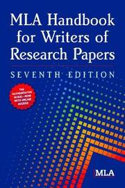 MLA Handbook for Writers of Research Papers by Modern Language Association image