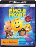 The Emoji Movie on UHD Blu-ray