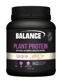 Balance Naturals Plant Protein - Vanilla (1kg)