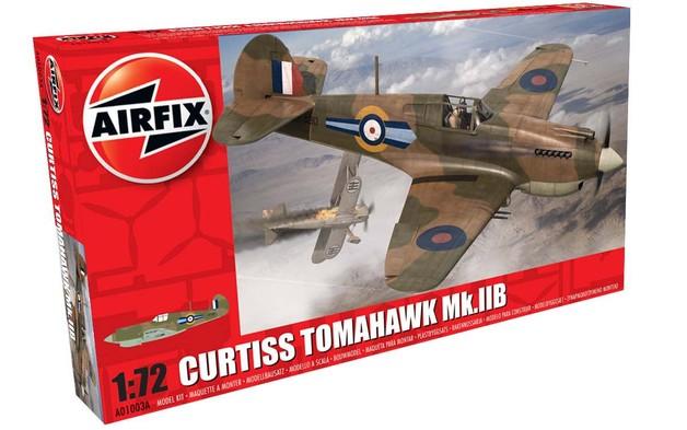 Airfix - Curtiss Tomahawk Mk.IIB 1:72 Model Kit