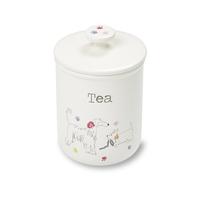 Cooksmart: Dapper Dogs Ceramic Tea Canister