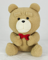 TED2: Big Sitting Plush - Red Bow Tie
