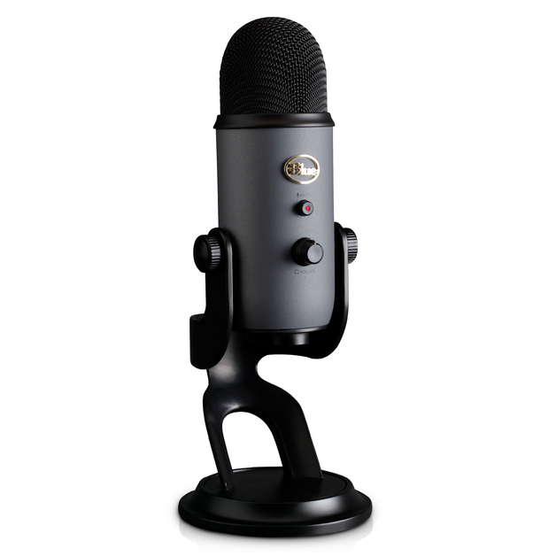Blue Microphones Yeti Multi-Pattern USB Microphone (Slate) for PC