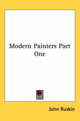 Modern Painters Part One by John Ruskin image