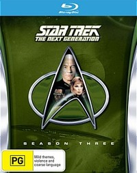 Star Trek The Next Generation - The Complete Third Season on Blu-ray