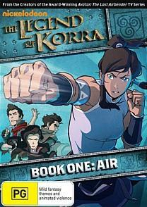 The Legend of Korra: Book One: Air on DVD image