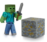 Minecraft Zombie Action Figure - Series 1