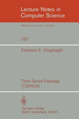 Time Series Package (TSPACK) by F.S. Chaghaghi