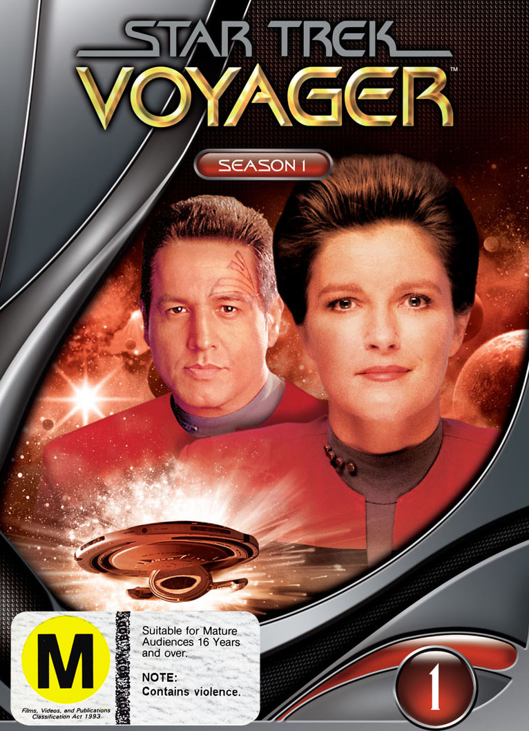 Star Trek: Voyager - Season 1 (New Packaging) on DVD image