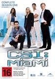 CSI - Miami: Complete Season 1 (6 Disc Set) DVD