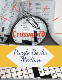 Crossword Puzzle Books Medium by Samurel M Kardem
