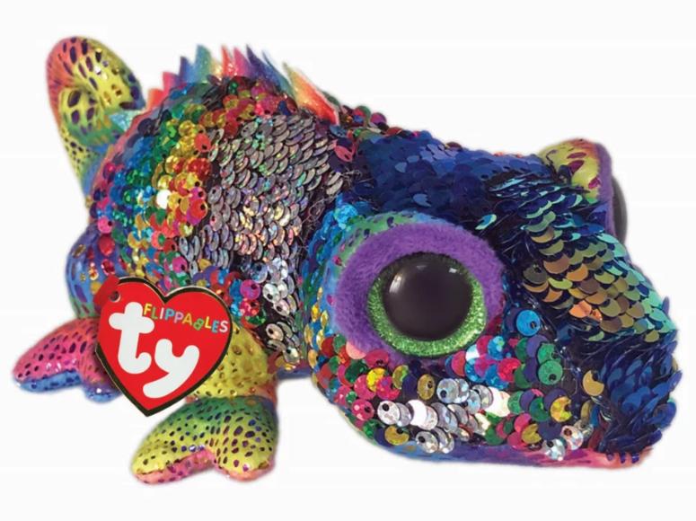 TY Beanie Boo: Flip Karma Chameleon - Small Plush image
