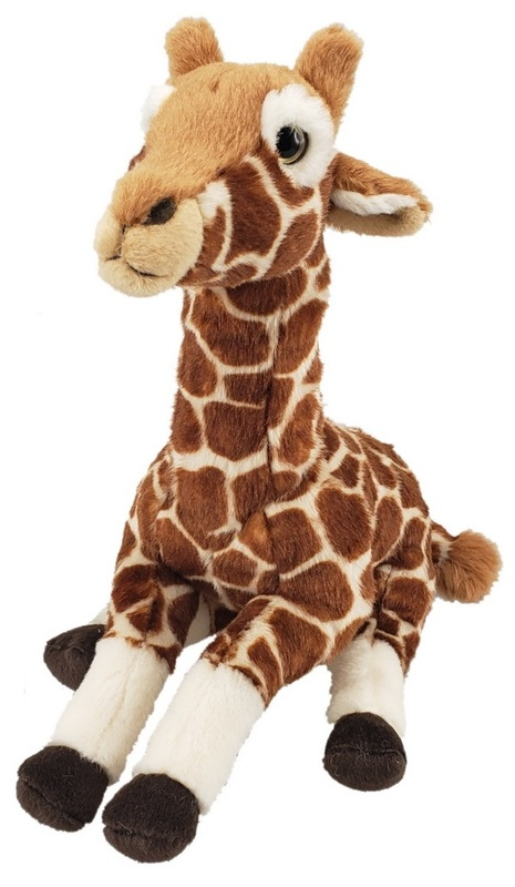 Antics: Giraffe - Sitting Plush