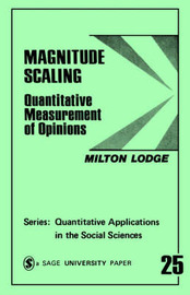 Magnitude Scaling by Milton Lodge image