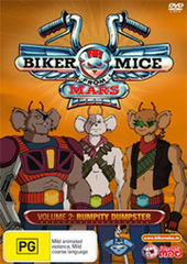 Biker Mice From Mars (2006) Vol 2 on DVD