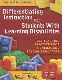 Differentiating Instruction for Students with Learning Disabilities: Best Teaching Practices for General and Special Educators image