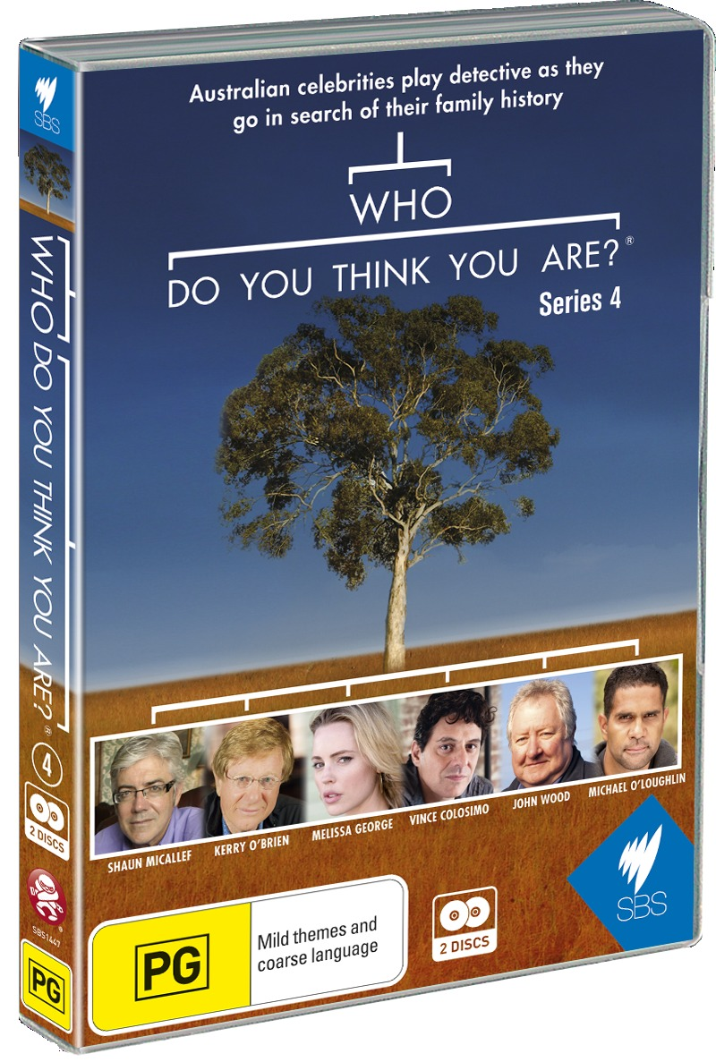 Who Do You Think You Are? - Series 4 on DVD image