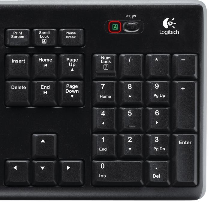 Logitech K270 Wireless Keyboard image