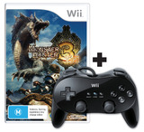 Monster Hunter Tri Bundle (includes controller) for Nintendo Wii