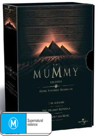 The Mummy - Legends Box Set on DVD