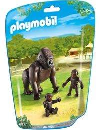 Playmobil: Zoo Theme - Gorilla with Babies (6638)