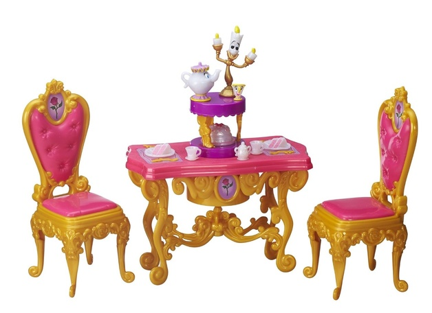 Disney: Princess Belle\'s Dining Room Playset | Toy | at ...