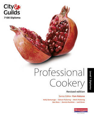 City & Guilds 7100 Diploma in Professional Cookery Level 1 Candidate Handbook, Revised Edition by Holly Bamunuge image