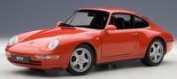 AUTOart: 1/18 Porsche 993 Carrera 1995 (Red) - Diecast Model