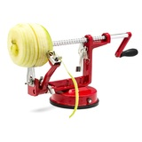 Apple Peeler/Corer With Suction Base - Red