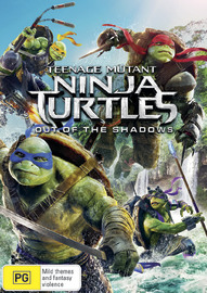Teenage Mutant Ninja Turtles: Out of the Shadows on DVD