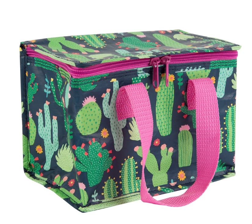 Colourful Cactus Lunch Bag image